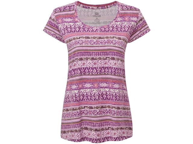 Sherpa Kira T-shirt Femme, aaru plum